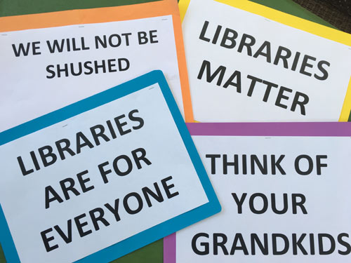 Your Norwood library – Let's keep it forever!
