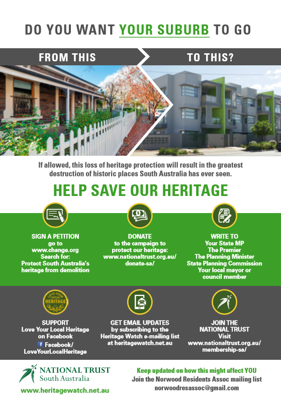 Save Our Heritage_Norwood Residents Ass2