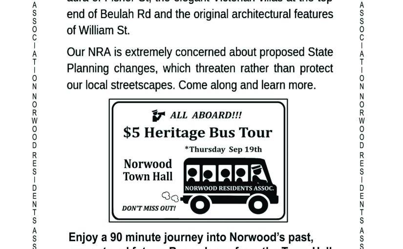 Norwood Heritage BusTours